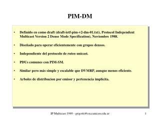 PIM-DM