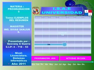 I.S.A.E UNIVERSIDAD
