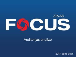 Auditorijas analīze