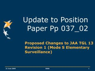 Update to Position Paper Pp 037_02