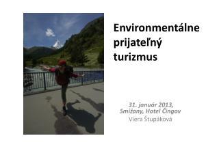 Environmentálne prijateľný turizmus