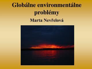 Globálne environmentálne problémy
