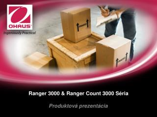 Ranger 3000 & Ranger Count 3000  Séria