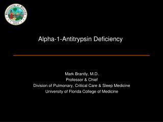 Alpha-1-Antitrypsin Deficiency