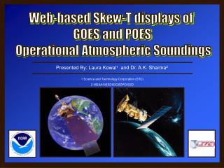 Web-based Skew-T displays of  GOES and POES  Operational Atmospheric Soundings