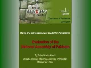 PILDAT Pakistan Institute of Legislative Development and Transparency