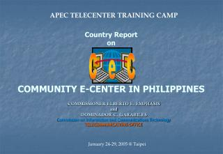 Country Report on