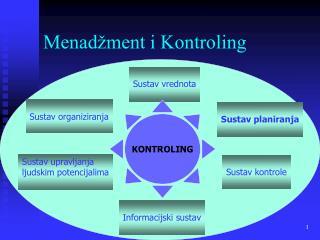 Menadžment i Kontroling