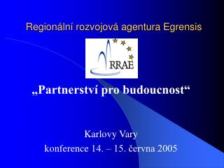 Regionální rozvojová agentura Egrensis