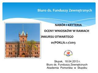 Biuro ds. Funduszy Zewnętrznych