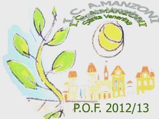P.O.F. 2012/13