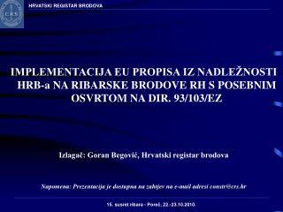 HRVATSKI REGISTAR BRODOVA