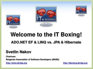 Welcome to the IT Boxing!