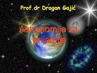 Astronomija za  prijatelje