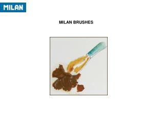 MILAN BRUSHES