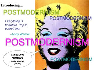 MARILYN MONROE Andy Warhol (1962)