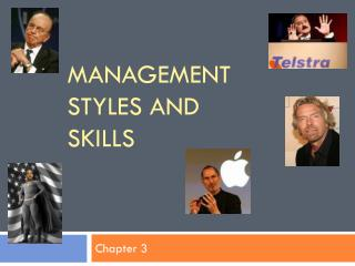 Management styles and skills
