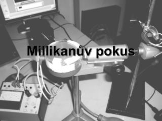 Millikanův pokus