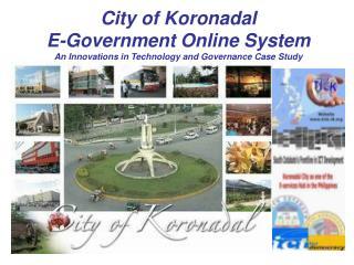 City of Koronadal E-Government Online System