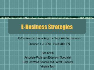 e-business strategies