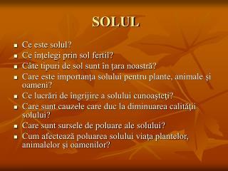 SOLUL