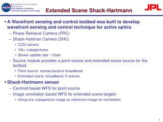 Extended Scene Shack-Hartmann