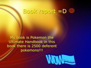 Book report =D