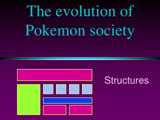 The evolution of Pokemon society