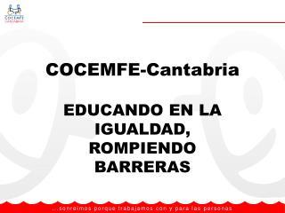 COCEMFE-Cantabria