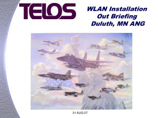 WLAN Installation Out Briefing  Duluth, MN ANG
