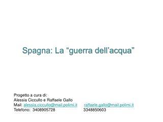 Progetto a cura di: Alessia Ciccullo e Raffaele Gallo
