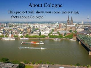 About Cologne