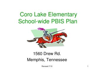 Coro Lake Elementary School-wide PBIS Plan