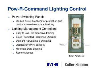 Pow-R-Command Lighting Control