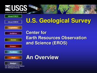 U.S. Geological Survey - Overview