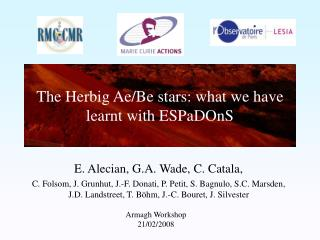 The Herbig Ae/Be stars: what we have learnt with ESPaDOnS