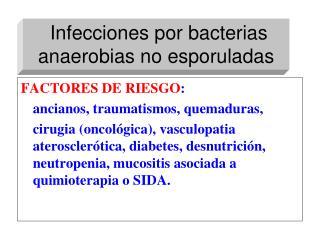 Infección por anaerobios