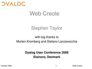 Web Creole