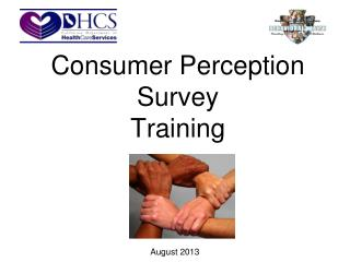 Consumer Perception Survey  Training