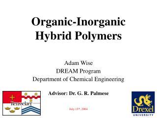 Organic-Inorganic Hybrid Polymers