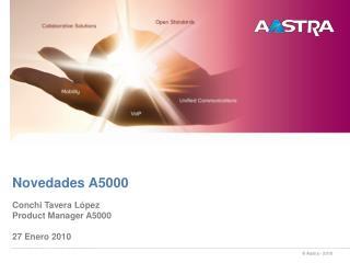 Novedades A5000