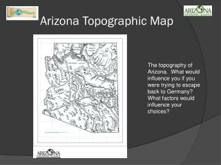 Arizona Topographic Map