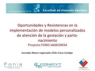 Jornadas Macro-regionales Chile Crece Contigo