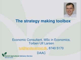 The strategy making toolbox