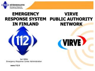 Jari Wil�n Emergency Response  Center Administration