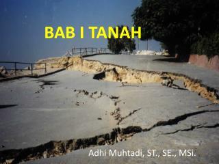 BAB I TANAH