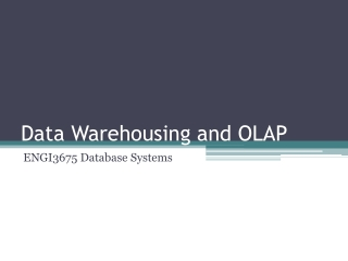 Chapter 4 Data Management: Warehousing, Access, Mining, and Visualization