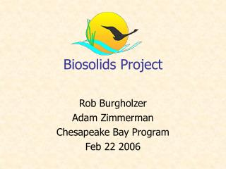 Biosolids Project