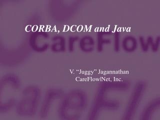 CORBA, DCOM and Java