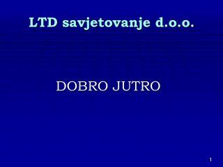 LTD savjetovanje d.o.o.